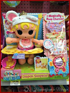 Lalaloopsy Babies Diaper Surprise Doll #ChosenByKids #Christmas #kids