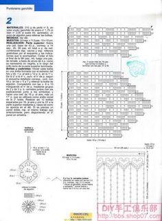 1000 images about cenefas on pinterest filet crochet for Cortinas para el hogar