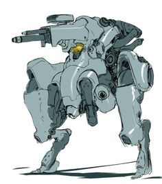 via mechblog http://yujinchu.tumblr.com/image/41940105239 ★ || CHARACTER DESIGN REFERENCES | マンガの描き方 • Find more artworks at https://www.facebook.com/CharacterDesignReferences http://www.pinterest.com/characterdesigh and learn how to draw: #concept #art #animation #anime #comics || ★