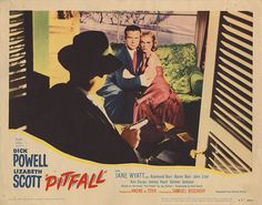 Lobby Card from the film Pitfail