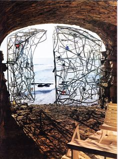 Claire Falkenstein Pignatelli Gates, 1957, inspired Peggy Guggenheim commission in 1960 for Guggenheim Collection on Venice.
