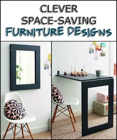 Save Floor Space in Your Home With These Space-Saving Furniture Pieces
