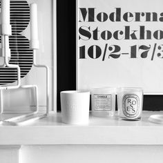 Moderna Museet Warhol Poster Collection - Via Romana | Black and White |