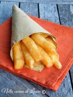 bastoncini di polenta fritti - nella cucina di laura