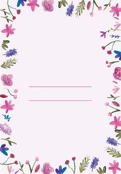 Watercolor-Flowers - Free Printable Wedding Invitation Template   Greetings Island