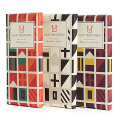 The Wayfarer Pack, more fab MAST #chocolate #packaging PD