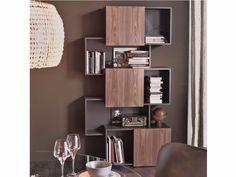 Libreria in MDF PIQUANT By Cattelan Italia design Andrea Lucatello