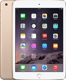 Yep, I think its finally time to upgrade. I still have the 2nd ipad that ever came out!! Can we say....BEHIND!!! iPad mini 3 Wi-Fi 16GB - Gold - Apple Store (U.S.)
