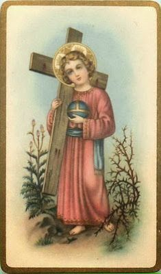 O Menino Deus: O Menino Jesus leva a Cruz