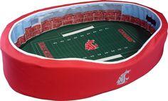 Martin Stadium Cougars Stadium Pet Bed (Medium)