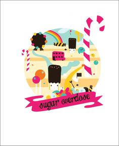 Candyland by Anna May, via Behance