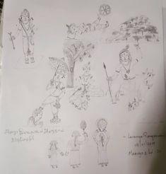 திருப்பாவை – Lavanya Rangaswami Vintage World Maps, Diagram, Drawings, Art, Art Background, Kunst, Sketches, Performing Arts, Drawing
