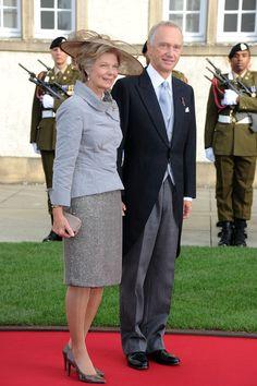 S.D. Fürst Hans-Adam II und I.D. Fürstin Marie Aglaë von Liechtenstein (1989 - ).