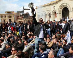 Fiscalía advierte a grupo de presión contra bloqueo del tráfico en Ereván | Soy Armenio