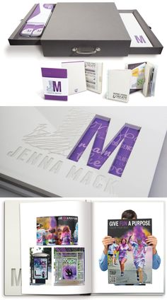 Impreso Diseño Gráfico Portfolio Ejemplo - Jenna Mack