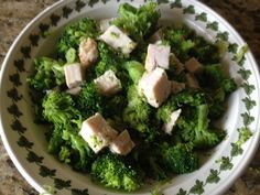 Turkey and Brocolli - Easy Low Carb Lunch - News - Bubblews