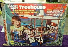 I'm thinking Michael Christian had this when he lived on Melbourne Street...I loved playing with the Planet of the Apes figures!