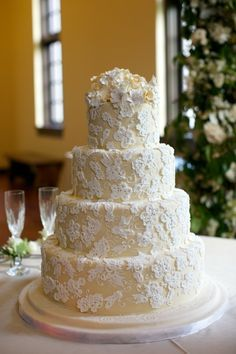 Wedding Cakes on Pinterest