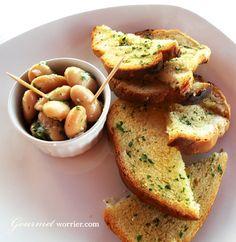 Fażola bit-Tewm - White Butter Beans with Garlic