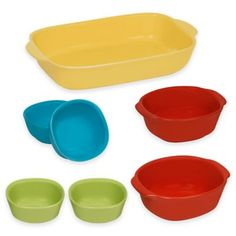 CW By CorningWareR 7 Piece Bakeware Set