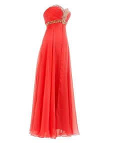 Pageant Coral prom dresses for evening party, formal prom and special occasions