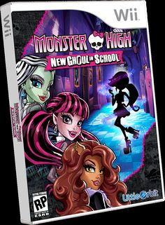 monster high new ghould in school - no catalog record created yet