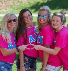 Life colorfully with your sorority letter shirts! You'll love the way we sew your custom greek apparel. Fraternity Letters, Sorority Letters, Sorority Shirts, Greek Letter Shirts, Greek Shirts, Customize Your Own Shirt, Greek Gear, Custom Greek Apparel, Greek Clothing
