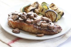 Hooray for grilling season! Nothing tastes quite as good as meat cooked over an open flame. And creamy mushrooms always take a good steak to the next level!