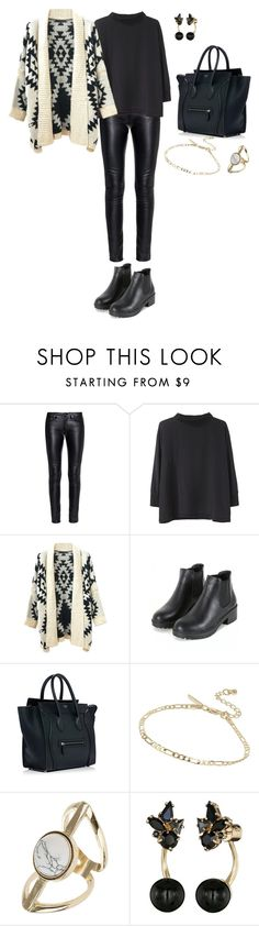 """""""Untitled #584"""" by elenekhurtsilava ❤ liked on Polyvore featuring Yves Saint Laurent, Acne Studios, Chicnova Fashion, Topshop and Kate Spade"""