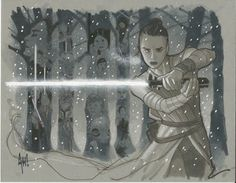 'Rey' by Adam Hughes
