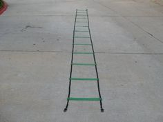 Speed Agility Training Sports Equipment Ladder 15 Feet by Titan. $19.99. Thank you for your interest in our speed / agility ladder. After paying top dollar last year for an average quality ladder, I decided I could find better! As a high school tennis coach, I wanted something that was going to stand up to our daily use, be easy to organize and store. Most of all I wanted a ladder for our players that would help them reach top shape. It worked, as we are back-to-back San Diego CI...