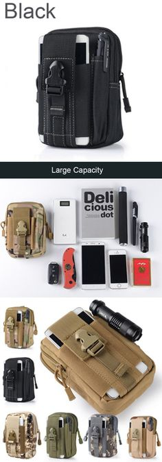 Outdoor Camping Wallet and Phone Pouch FREE SHIPPING
