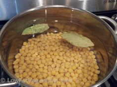 How To Cook Chickpeas/Garbonzo Beans/Channa Chickpea Recipes, Vegetarian Recipes, Cooking Recipes, Healthy Recipes, Cooking Garbanzo Beans, Cooking Dried Beans, Healthy Snacks, Healthy Eating, Kitchens