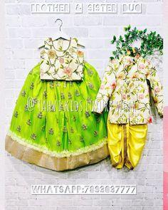 Star Fashion, Kids Fashion, Combo Dress, Family Set, Baby Dresses, Brother Sister, Kids Clothing, Frocks, Designer Dresses
