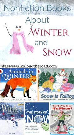 Looking for great books to help kids learn about and This list of nonfiction books can help. Winter Activities, Book Activities, Preschool Winter, Teaching Resources, Teaching Ideas, Toddler Books, Childrens Books, Nonfiction Books For Kids, Kindergarten Books