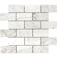 MSI Arabescato Carrara 3'' x 6'' Marble Tile & Reviews | Wayfair