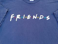 Friends TV Series Vintage Mens T Shirt by GailsVintageGarden, $23.00