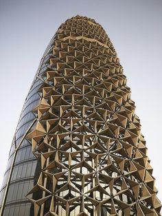 Al Bahar responsive facade in Abu Dhabi Designed by AEDAS