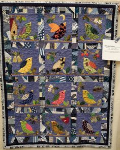 birds  Quilt Inspiration: Spring is in the air: Contra Costa Quilt Show
