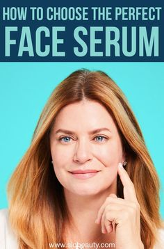 Why you need to incorporate a face serum to your antiaging skincare routine and how to find the perfect match for you! Why you need to incorporate a face serum to your antiaging skincare routine and how to find the perfect match for you! Anti Aging Moisturizer, Anti Aging Serum, Anti Aging Skin Care, Natural Skin Care, Best Face Serum, Wrinkle Remedies, Skin Tightening, Best Face Products, Skincare Routine