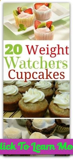 You wouldnt think a Weight Watchers Cupcake could be part of a weight loss plan. Thats because when youre following most diet plans, you usually have to say goodbye to sweets of all kinds. That includes the most delicious and easiest to eat--cupcakes. Luckily, on Weight Watchers, you can indulge in the sweet treat that we all love. #health #fitness #weightloss #healthyrecipes #weightlossrecipes