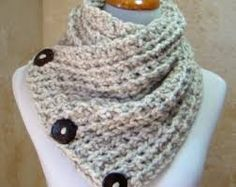 Image result for button scarf
