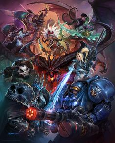 Blizzard,Blizzard Entertainment,art,арт,красивые картинки,Игры,Warcraft,warcraft 3,Diablo,diablo 3