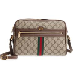 b073c75c238a Free shipping and returns on Gucci Ophidia GG Supreme Canvas Crossbody Bag  at Nordstrom.com