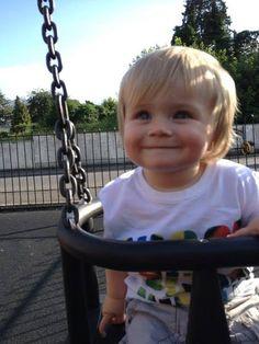 What a cute kid ♥ Theo Horan
