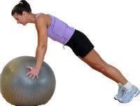 TweakFit30 Minute Exercise Ball Workout - Beginner to Intermediate | TweakFit