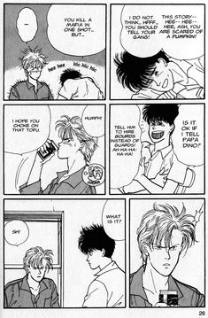 One of the series I'm always trying to draw friends into is Akimi Yoshida's classic shojo manga, Banana Fish. I first discovered this series, embarrassingly, t Banana Games, Wall Collage, Wall Art, Fish Wallpaper, Manga Covers, Fandom, Fish Print, Manga Pictures, Wall Pictures
