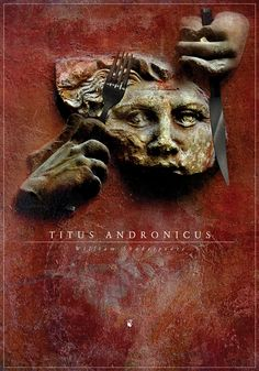 Anna Láng // Shakespeare Titus Andronicus poster