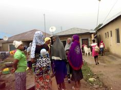 Women in Ushafa Village, FCT, Abuja, Nigeria. #JujuFilms