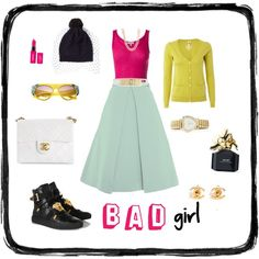 """BAD girl"" by lenkafen on Polyvore"